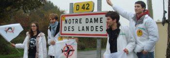 Manifestation contre le projet d'aéroport à Notre-Dame-des-Landes